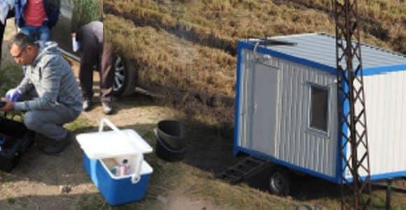 Доставка на вертикална система за мониторинг и поддържане водите на езеро Гала в Енез