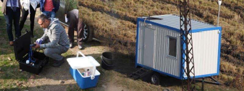 Enez'deki Gala gölü sularının izlenmesi ve muhafaza edilmesi için dikey profilleme sisteminin teslim edilmesi